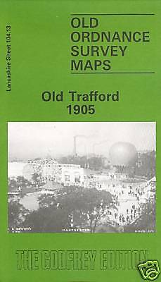 Old Ordnance Survey Map Old Trafford 1905