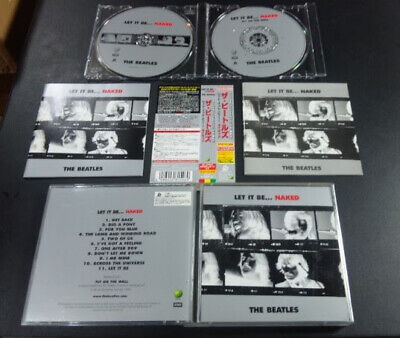 The Beatles / Let It Be...Naked (2-CD)- '03, Japan obi