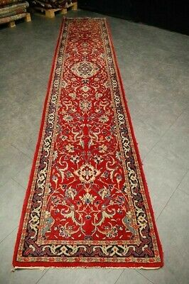 Antiker Teppich Antique rug perser  sarough ca:430x84cm Sammlerstück