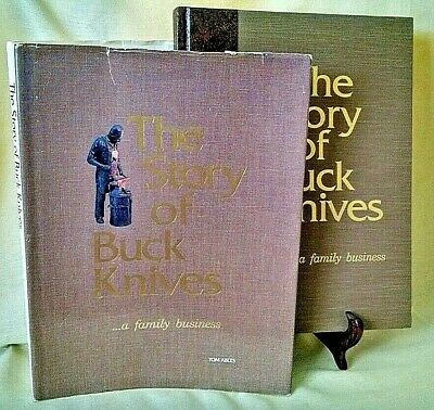 Story Of Buck Knives A Family Business Tom Ables Signed Chuck Yellowhorse Hc/dj.