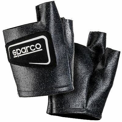 Sparco Meca Mechanic Garage Pit Paddock Racing Over Gloves In Black