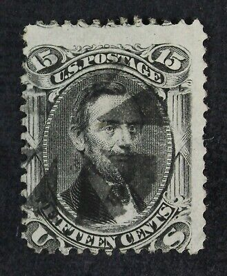 CKStamps: US Stamps Collection Scott#77 15c Lincoln Used CV$180