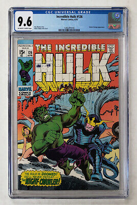 Incredible Hulk #126 9.6 Cgc Grade Marvel Comic Doctor Strange