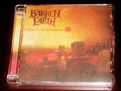 Barren Earth: Curse Of The Red River CD 2010 Peaceville Germany CDVILEF279