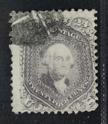 CKStamps: US Stamps Collection Scott#99 24c Washington Used Lightly Crease $1600