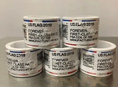 USPS FOREVER STAMPS 2018 roll of 100 FREE SHIPPING