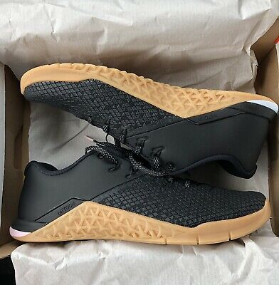 606793bb1ac95 NIKE METCON 4 XD X Cross Training Mens 10 Black/Gum In Hand! Limited ...