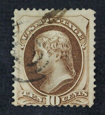 CKStamps: US Stamps Collection Scott#139 10c Jefferson Used Lightly Crease $850