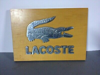 Plaque / logo crocodile LACOSTE