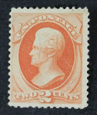 CKStamps: US Stamps Collection Scott#183 2c Jackson Unused H Regum