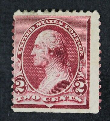 CKStamps: US Stamps Collection Scott#219D 2c Washington Unused Regum Tiny Thin