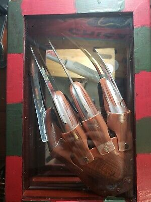 Freddy Krueger Glove In Case