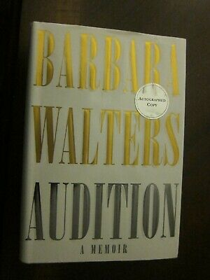 AUTOGRAPHED: Barbara Walters: Audition: A Memoir (2008, Hardcover) 1st Edition