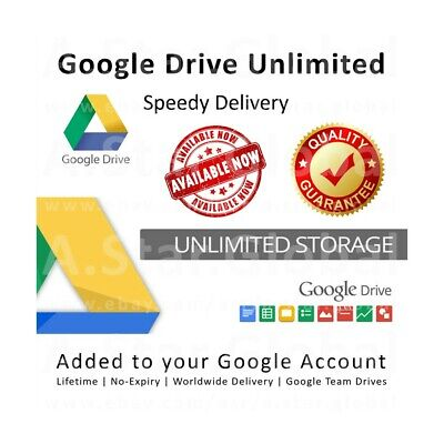 Unlimited drive for Google drive BUY 2 WIN 1 FREE 100% Secure team drive