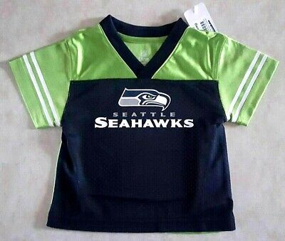 0c36e2bf47d SEATTLE SEAHAWKS Toddler Kids Jersey Size 12 or 18 Months or 3T Mesh New