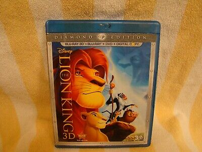 The Lion King 2011 (3D / DVD / Digital Copy , 3-Disc Set, Diamond Edition