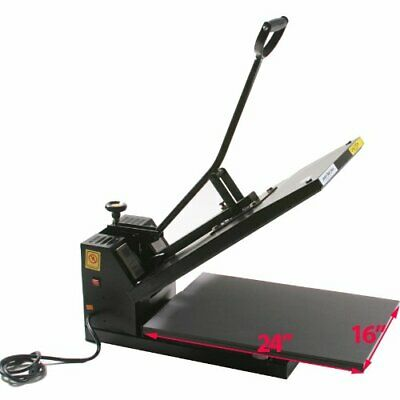 "ePhoto 16"" x 24"" Digital Clamshell Heat Press Transfer T-Shirt Press Machine FRT"