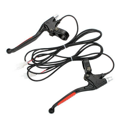 2 Wire Electric Pocket E Bike Gas Scooter Mini Razor  Brake Levers Left + right