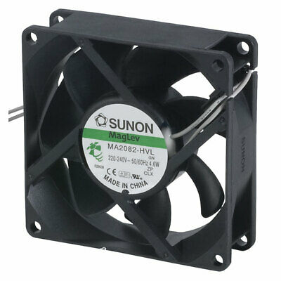 SUNON® MA 2082HVL.GN MAGLev Axial Fan 230V AC 80 x 80 x 25mm