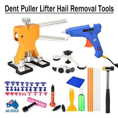 43x Car Paintless Dent Repair Dint Hail Damage Remover Puller Lifter Tool Kit AU