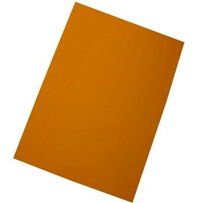 West A4 Document Covers - Orange (pack Of 100) - 100 Pack Plasclear Pvc Sheets