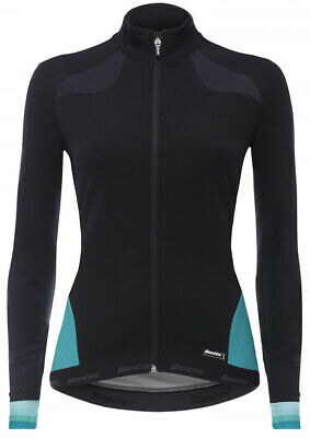 c842b8a54 SANTINI CORAL 2 Winter Windstopper Womens Cycling Jacket - Blue ...