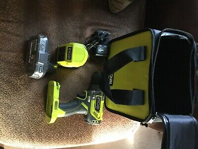 RYOBI R18PDBL-0 ONE  18-Volt Brushless Combi Drill battery & Charger