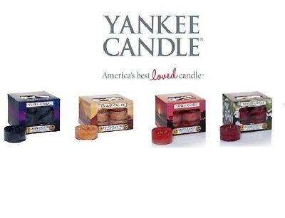 NEW Box Of 12 Yankee Candle Scented Tea Lights - Fresh, Floral or Fruity T-Light