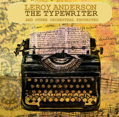 CD Leroy Adnerson The Typewriter 2CDs Easy Listening