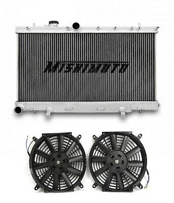 Mishimoto Performance Alloy Radiator With Fans fits Impreza WRX STI 01-07