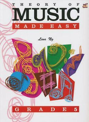 Theory of Music Made Easy Grade 5 by Lina Ng, Acceptable Book (Sheet music) Fast