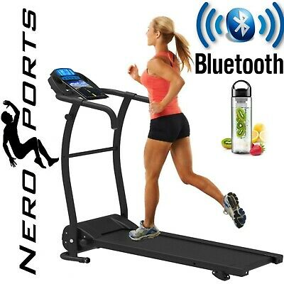 ADJUSTABLE INCLINE BLUETOOTH NERO PRO TREADMILL Electric Folding Running Machine