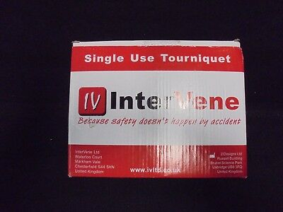 Inter Vene single use tourniquet box of 50