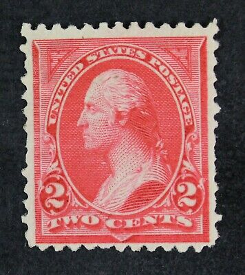 CKStamps: US Stamps Collection Scott#250 2c Washington Mint H OG Lightly Crease