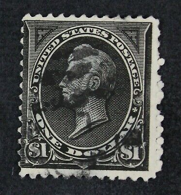 CKStamps: US Stamps Collection Scott#261 $1 Perry Used Lightly Crease CV$375
