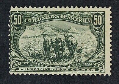 CKStamps: US Stamps Collection Scott#291 50c Unused NG