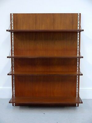 1960s VINTAGE ORIGINAL JOHN AND SYLVIA REID WALL MOUNTED SHELF UNIT STAG ENGLAND