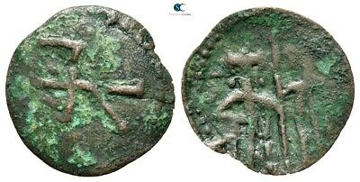 Savoca Coins Medieval Bronze Coin 0,81 g / 20 mm @SUI7427