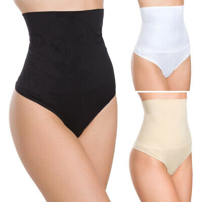 Womens Body Shaping Thong Slimming Panties Butt Lifter Shapewear L-2XL FG2097