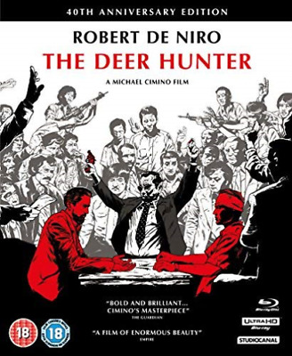 The Deer Hunter 40Th Anniv Coll Bd (UK IMPORT) BLU-RAY NEW