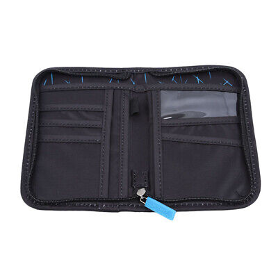 Multi Function Outdoor Bag For Cash Passport Card Portable Travel Wallet LD