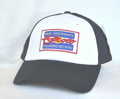 0fc9f6e26b7c3 HIGH PERFORMANCE SCOTT COLORADO FLY RODS Fishing Structured Ball cap hat   OURAY