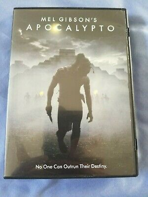 Apocalypto (Rare Region 1 DVD  2007) Mel Gibson,Viewed Once