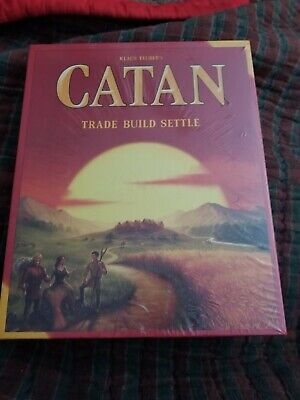 Settlers of Catan Board Game 5th Edition *Brand New* Sealed