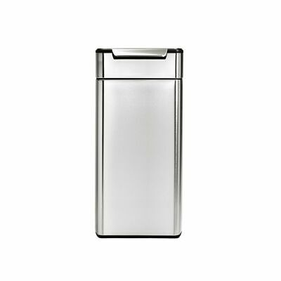 Simplehuman Rectangular Touch-bar 30L Brushed Stainless Steel Trash Can CW2015