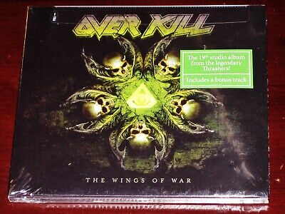 Overkill: The Wings Of War CD 2019 Bonus Track Nuclear Blast USA Digipak NEW