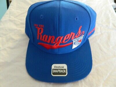 best loved 6c176 1bae9 New York Rangers Reebok Snapback blue NHL Hat new with stickers