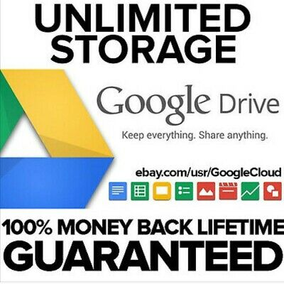Unlimited Google Drive On Existing Acc Lot Of 3Pc For Life!!