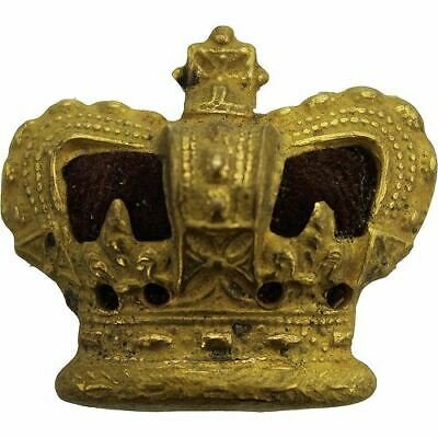 VICTORIAN Officers Insignia Queen Victoria Crown Pip Rank of Major - QX32