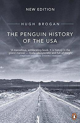 The Penguin History of the United States of America by Hugh Brogan, NEW Book, FR
